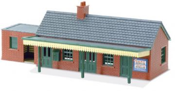 LK-12 Country Station Building, brick type